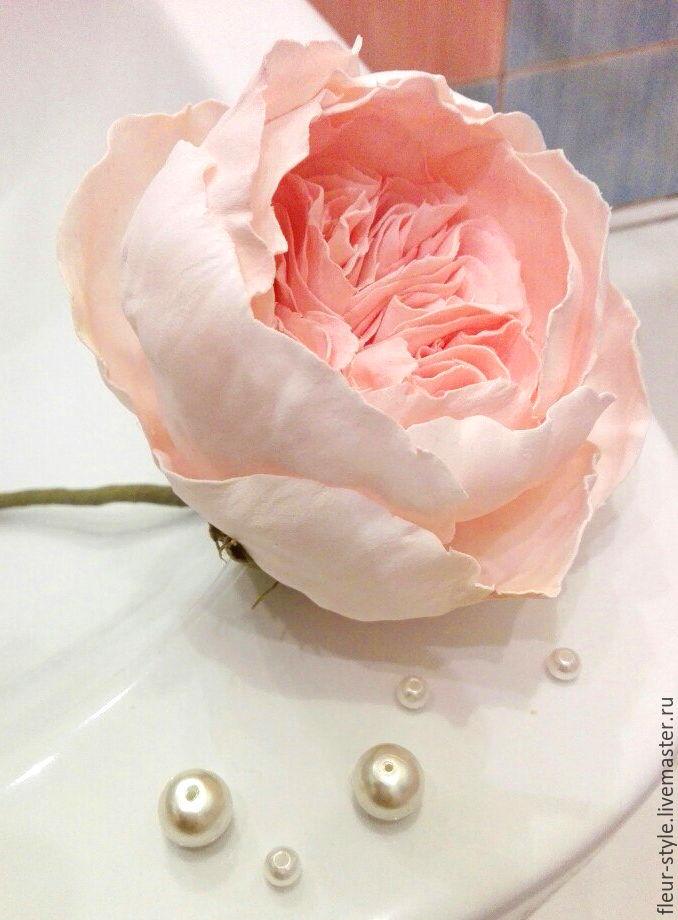 Мастер-класс роза от fleur