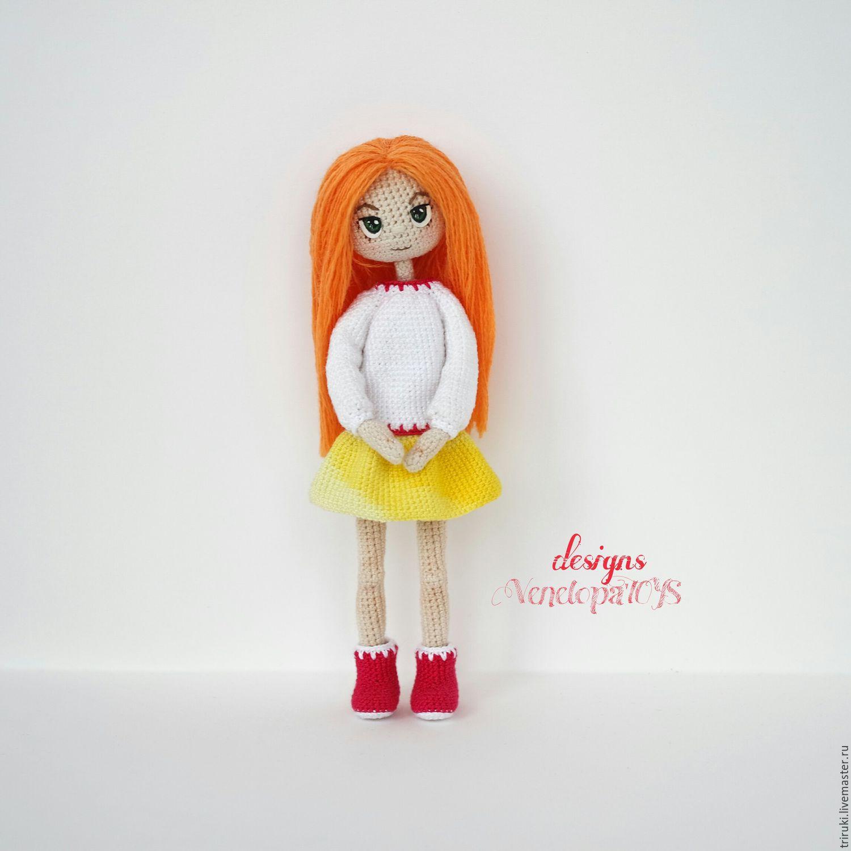 Кукла из ниток. мастер класс с пошаговым