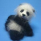 Куклы и игрушки ручной работы. Ярмарка Мастеров - ручная работа панда Джин. Handmade.
