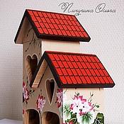 """Для дома и интерьера ручной работы. Ярмарка Мастеров - ручная работа Чайный домик """"В моем саду"""". Handmade."""