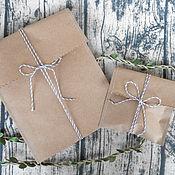 Материалы для творчества handmade. Livemaster - original item Package: Kraft paper. Handmade.