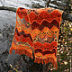 Scarf 'Sunny autumn', Scarves, St. Petersburg,  Фото №1