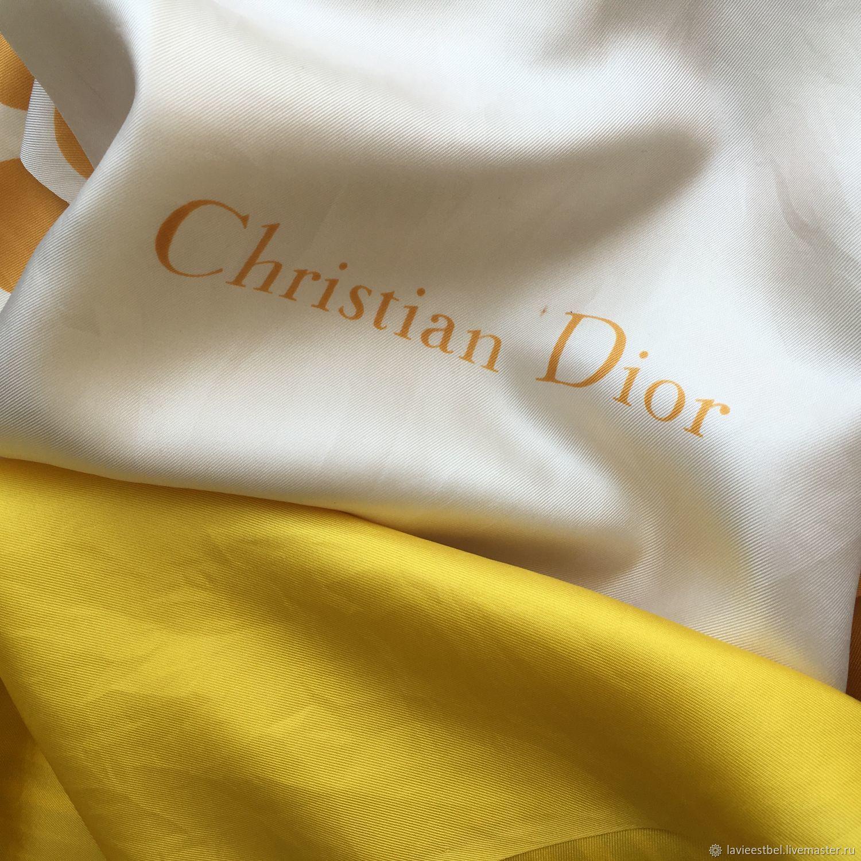 Винтаж:  Шарф(палантин) от Christian Dior 100% шелк, Аксессуары винтажные, Киев,  Фото №1