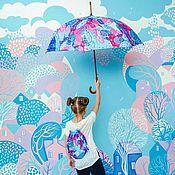 Дизайн ручной работы. Ярмарка Мастеров - ручная работа Роспись стен в детской комнате. Handmade.