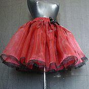 Одежда ручной работы. Ярмарка Мастеров - ручная работа Пышная юбка из органзы. Handmade.