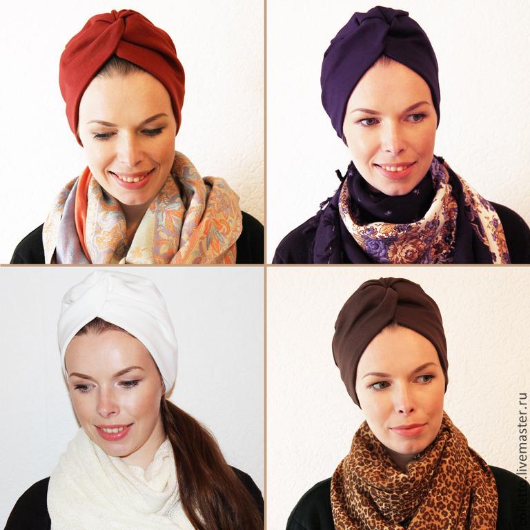 Как сделать шапку из шарфа