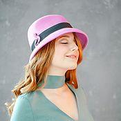"""Фетровая шляпа """"Фламинго"""""""