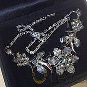 handmade. Livemaster - original item Necklace Aurora Borealis 50s. Handmade.