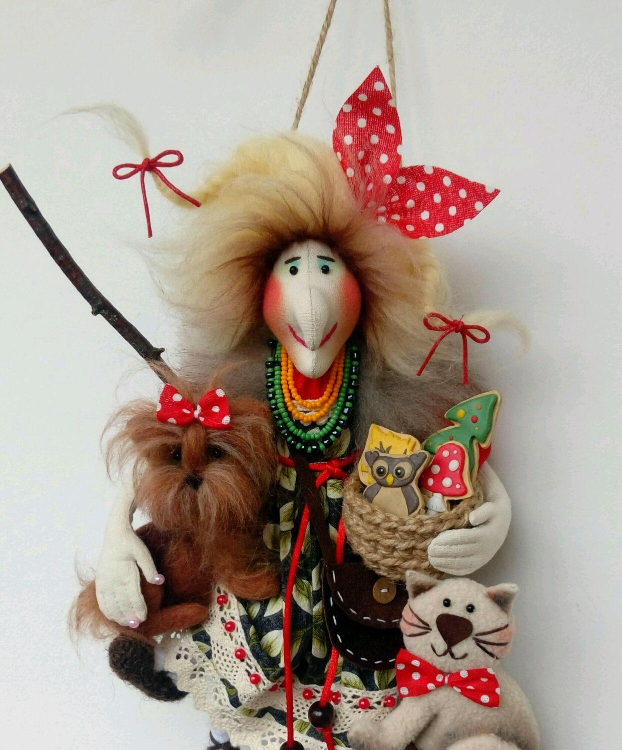 Баба Яга. Творческая натура, Мягкие игрушки, Владимир,  Фото №1