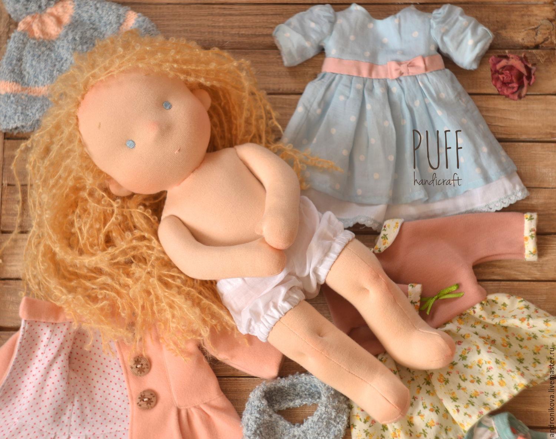 Мастер класс по волосам для вальдорфских кукол