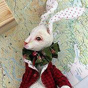 Куклы и игрушки ручной работы. Ярмарка Мастеров - ручная работа Вслед за Белым кроликом. Handmade.