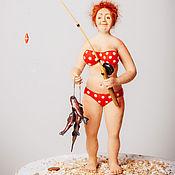 Куклы и игрушки ручной работы. Ярмарка Мастеров - ручная работа Рыбачка Соня. Handmade.