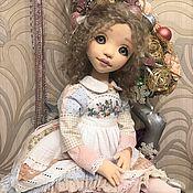Шарнирная кукла ручной работы. Ярмарка Мастеров - ручная работа Ульяна, коллекционная кукла. Handmade.