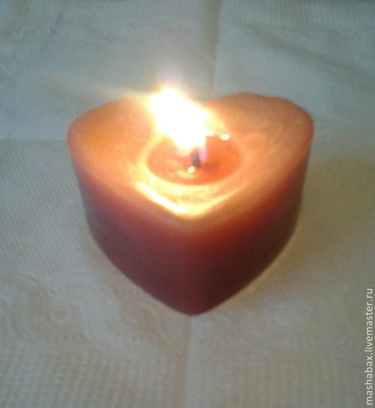 Свечи ручной работы. Ярмарка Мастеров - ручная работа. Купить Аромасвеча Огонь любви. Handmade. Свечи ручной работы