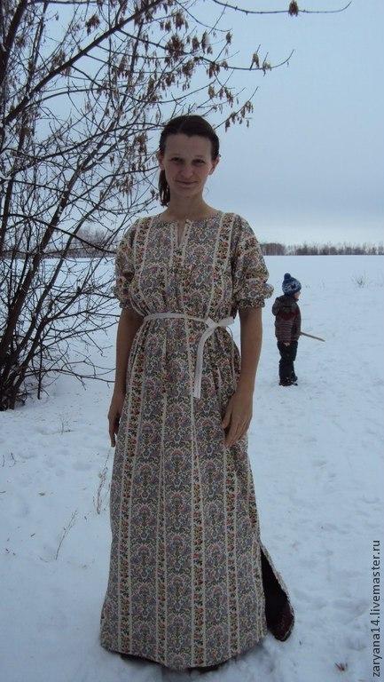 """Платья ручной работы. Ярмарка Мастеров - ручная работа. Купить Летнее платье """"Софья"""". Handmade. Разноцветный, летнее платье"""