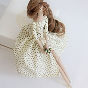 Тильда Зверята ручной работы. Ярмарка Мастеров - ручная работа Кукла интерьерная текстильная Тильда. Handmade.