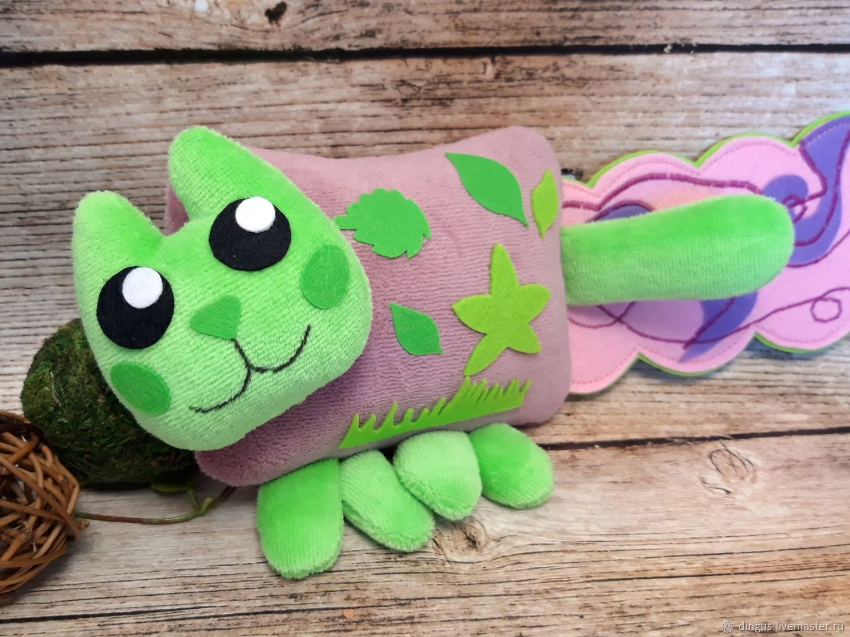 Grass Cat мини, мягкая игрушка няшный кот Nyan Cat нянкэт, Мягкие игрушки, Москва,  Фото №1