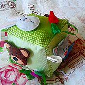 """Куклы и игрушки ручной работы. Ярмарка Мастеров - ручная работа Развивающая игрушка """"Кто что ест?"""". Handmade."""