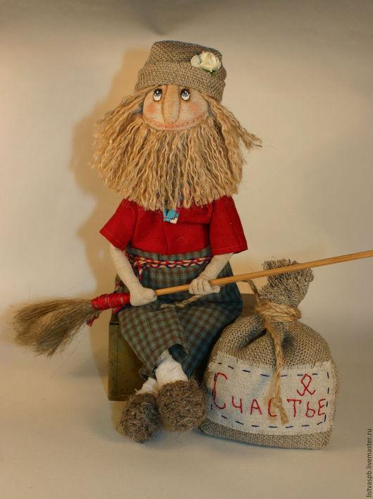 Сказочные персонажи ручной работы. Ярмарка Мастеров - ручная работа. Купить Домовой кукла-оберег для дома Текстильная Авторская кукла. Handmade.