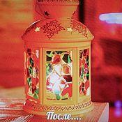 Дизайн и реклама ручной работы. Ярмарка Мастеров - ручная работа подсвечник в восточном стиле фонарь. Handmade.