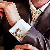 Украшения handmade. Livemaster - original item Cufflinks for men Edward. Men`s jewelry. Gold cufflinks. Handmade.