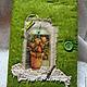 """Блокноты ручной работы. Ярмарка Мастеров - ручная работа. Купить Повтор блокнота """"Ландыши"""". Handmade. Зеленый, блокнот в мягкой обложке"""