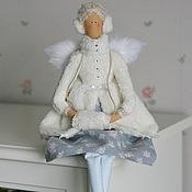 Куклы и игрушки ручной работы. Ярмарка Мастеров - ручная работа Снежный ангел на коньках. Handmade.