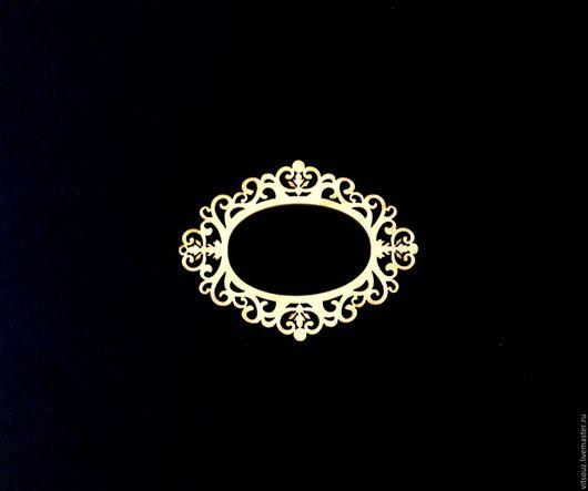 Декупаж и роспись ручной работы. Ярмарка Мастеров - ручная работа. Купить Арт. ИЗ-003 Медальон-накладка (Ажур). Handmade.