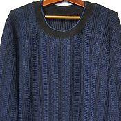 Одежда ручной работы. Ярмарка Мастеров - ручная работа Пуловер Марина. Handmade.
