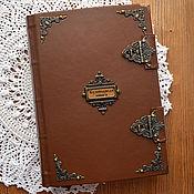 Канцелярские товары handmade. Livemaster - original item Cookbook