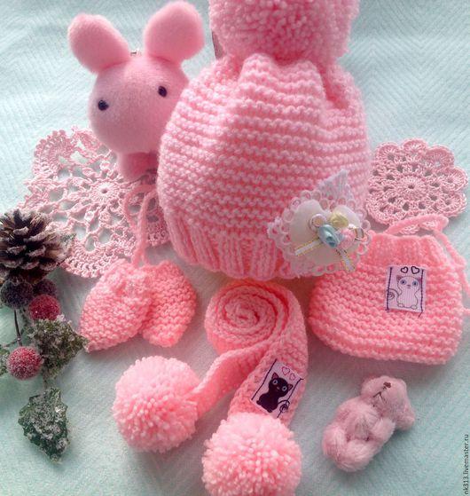 """Одежда для кукол ручной работы. Ярмарка Мастеров - ручная работа. Купить Комплект одежды для куклы """"Розовый зефир"""". Handmade."""