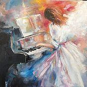 Картины и панно handmade. Livemaster - original item Oil painting Chopin. Handmade.