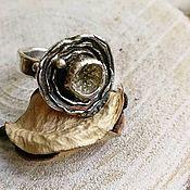 Украшения handmade. Livemaster - original item Silver ring boho water Lily. Handmade.