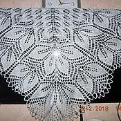 Одежда ручной работы. Ярмарка Мастеров - ручная работа Шаль Харуни с двойной каймой. Handmade.