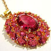 Украшения handmade. Livemaster - original item Pendant Pink Tourmaline.. Handmade.