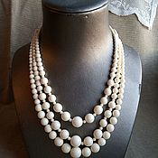 Украшения handmade. Livemaster - original item Beads Classic. options. bone.. Handmade.
