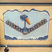 Картины и панно ручной работы. Ярмарка Мастеров - ручная работа О птичках.... Handmade.
