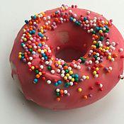 Косметика ручной работы. Ярмарка Мастеров - ручная работа Мыло пончик -2. Handmade.
