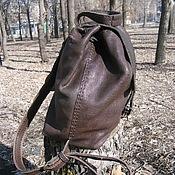 Сумки и аксессуары handmade. Livemaster - original item Backpack). Handmade.