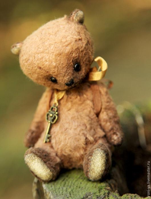 Мишки Тедди ручной работы. Ярмарка Мастеров - ручная работа. Купить Малыш. Handmade. Коричневый, тедди, вискоза Германия