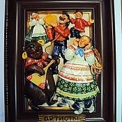 """Картины и панно ручной работы. Ярмарка Мастеров - ручная работа """"Артисты"""". Handmade."""