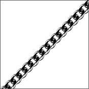 Украшения handmade. Livemaster - original item Buy silver chain bracelet curb. Handmade.