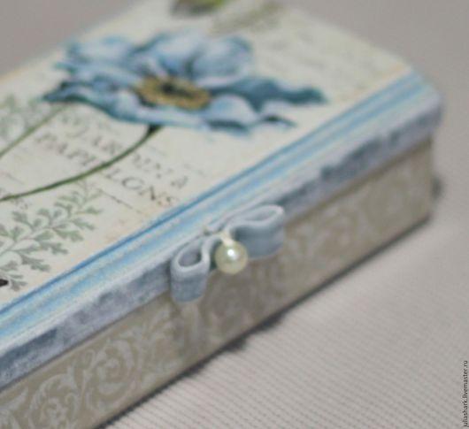 Купюрница  -  шкатулка для денег `Jardin a Papilons`.