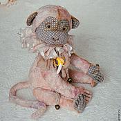 Куклы и игрушки ручной работы. Ярмарка Мастеров - ручная работа Мия - обезьянка (друг тедди мишек). Handmade.