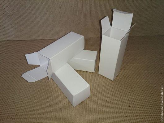 Упаковка ручной работы. Ярмарка Мастеров - ручная работа. Купить маленькие коробочки из картона. Handmade. Картонная коробка, белый