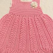 Работы для детей, ручной работы. Ярмарка Мастеров - ручная работа Платье Колоски. Handmade.