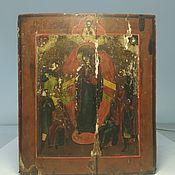 Винтаж handmade. Livemaster - original item Holy mother of God, ark, 19th century. Handmade.