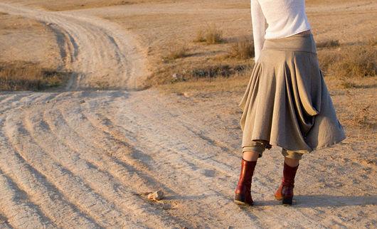 Брюки, шорты ручной работы. Ярмарка Мастеров - ручная работа. Купить Юбка-брюки для любительниц Бохо. Handmade. Женская одежда
