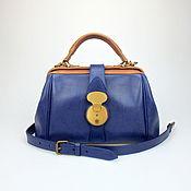 Сумки и аксессуары handmade. Livemaster - original item Bag leather women, bag buy Secret Blue. Handmade.