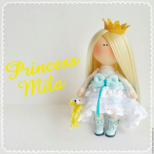Коллекционные куклы ручной работы. Ярмарка Мастеров - ручная работа. Купить Принцесса Мила. Handmade. Интерьерная кукла, кукла, малышка